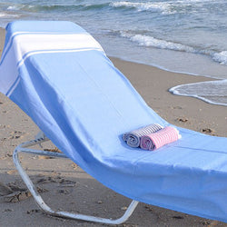 Turkish-T: Basic Beach Blanket (Light Blue)