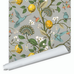 Dwell & Good: Lemon Bird Wallpaper - SB Shop