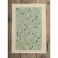 Southern Fried Design Barn: Chicken Kitchen Towel - SB Shop