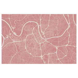 Dwell & Good: Nashville Map Placemat - SB Shop