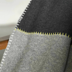 NEWLY: Gray Divide Blanket