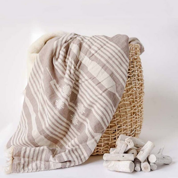 Turkish-T: Arrow Fleece Lined Throw