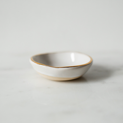 Handmade Studio TN: Gold Rim Ring Bowl - SB Shop