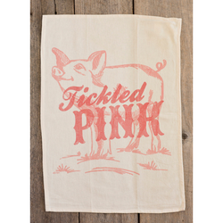 Southern Fried Design Barn: Tickled Pink Kitchen Towel