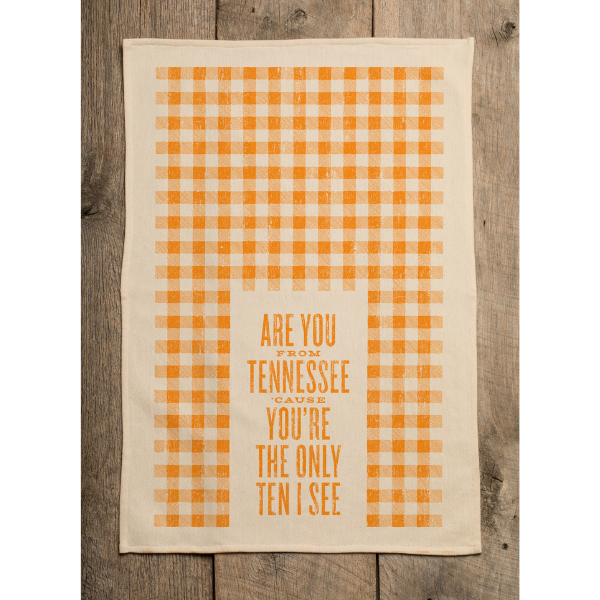 Southern Fried Design Barn: You're The Only Ten I See Kitchen Towel