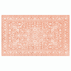 Dwell & Good: Muted Persian Vinyl Kitchen Mat - SB Shop