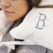 South of Hampton: Monogrammed Travel Neck Pillow