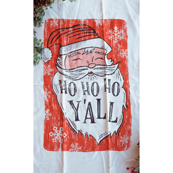 Southern Fried Design Barn: Ho Ho Ho, Y'all Kitchen Towel