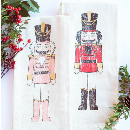 Southern Fried Design Barn: Nutcracker Kitchen Towel