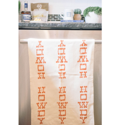 Southern Fried Design Barn: Howdy Kitchen Towel