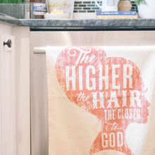 Southern Fried Design Barn: Higher The Hair Kitchen Towel