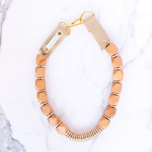 Hearne Dry Goods: Light Oak Necklace
