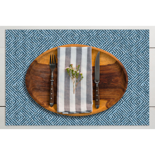 Dwell & Good: Herringbone Tweed Placemat - SB Shop