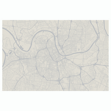 Dwell & Good: Nashville Map Placemat