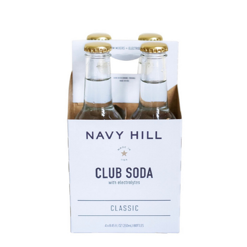 Navy Hill: Classic Club Soda - SB Shop