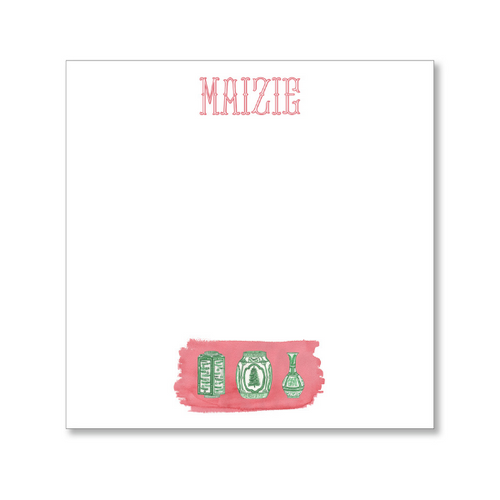 Maizie Clarke: Personalized Holiday Notepad