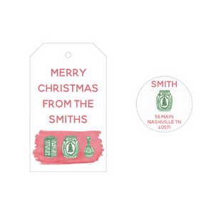 Maizie Clarke: Personalized Holiday Gift Tags