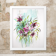 Joshua Sage Newman: Original Watercolor Floral (L)