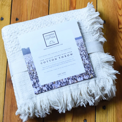 Covered In Cotton: The Tate Throw
