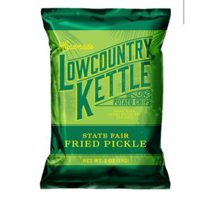Lowcountry Kettle Chips: State Fair Fried Pickle Kettle Chips (12 Pack)