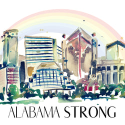 SB + Erika Roberts Studio: Alabama Strong Print - SB Shop