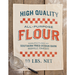 Southern Fried Design Barn | All Purpose Flour Tea Towel