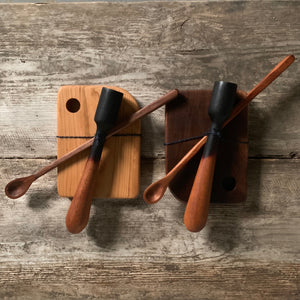 Billet + Blade: Handmade Wooden Cocktail Set