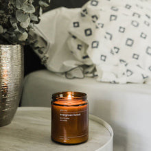 gold + ivy: evergreen forest candle