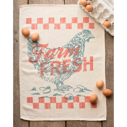 Southern Fried Design Barn | Farm Fresh Tea Towel