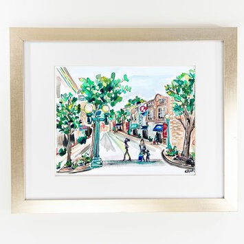 Erika Roberts Studio: Franklin, TN Watercolor Fine Art Print