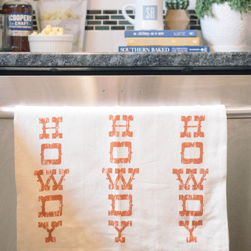 Southern Fried Design Barn | Howdy Tea Towel