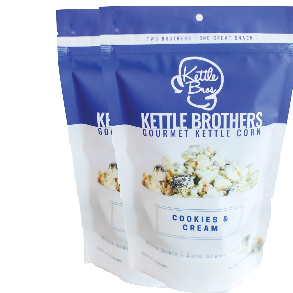 Kettle Brothers Gourmet Kettle Corn: Cookies and Cream - SB Shop