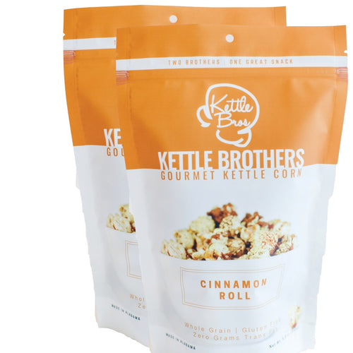 Kettle Brothers Gourmet Kettle Corn: Cinnamon Roll - SB Shop