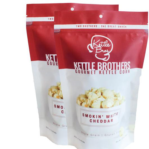 Kettle Brothers Gourmet Kettle Corn: Smokin' White Cheddar - SB Shop