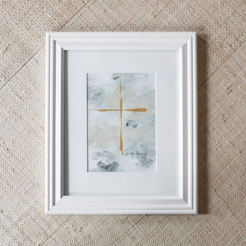 Carrie Pittman Art: Framed Crosses