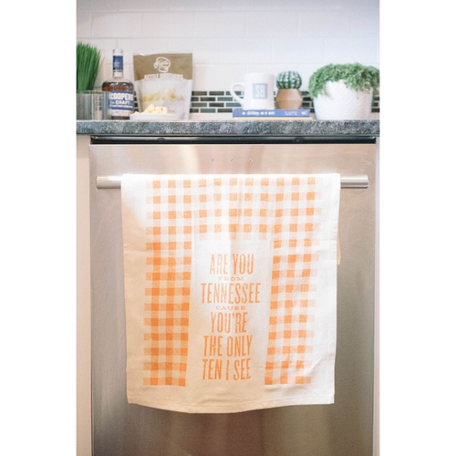 Southern Fried Design Barn | You're the Only Ten I See Tea Towel