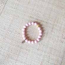 SB + OMI Beads: Pink Set of Five with Geode