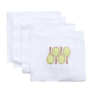 Lettermade: Tennis Doubles Cocktail Napkin