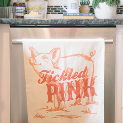 Southern Fried Design Barn | Tickled Pink Tea Towel