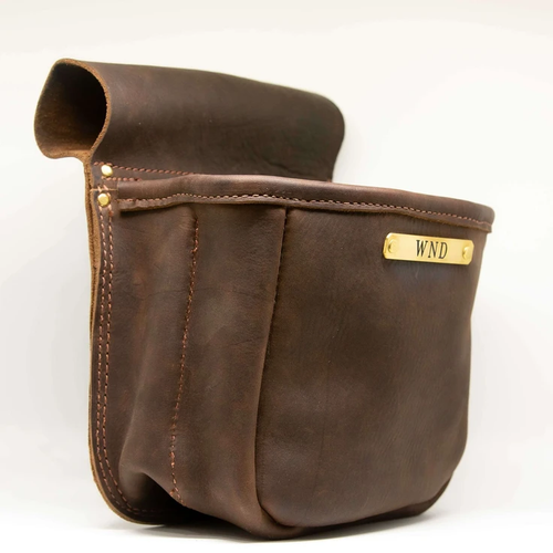 Bluegrass Provisions Co.: Monogrammed Shell Pouch