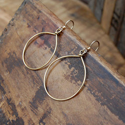 Amy Wells Designs: Wire Wrapped Hoops - SB Shop