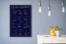 Zodiac Constellation Poster - SB Shop