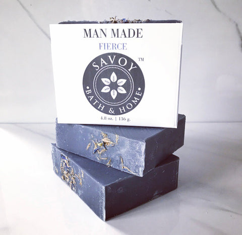 Man Made Fierce Soap Bar - Savoy Bath & Home