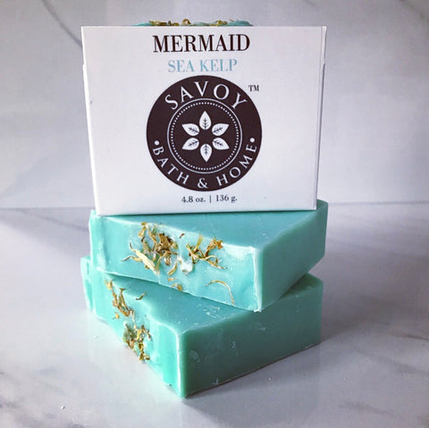 Mermaid Sea Kelp Soap Bar - Savoy Bath & Home