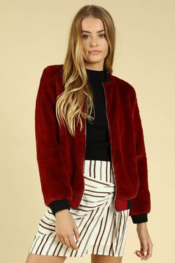 Holiday Bomber Jacket