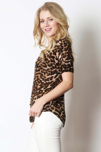 Leopard Lady Top