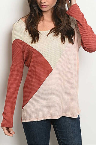 Rose Thermal Top
