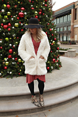 Re-Stocked! Pretty In Plush Coat