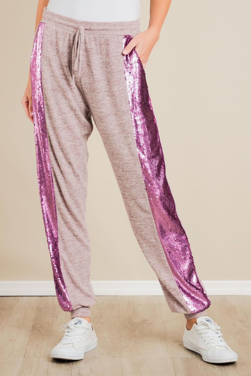 House Party Sequin Joggers