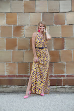 Load image into Gallery viewer, Leopard Maxi Dress